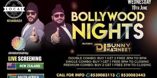 Wednesday Bollywood Night - Dj Sunny & Dj Harneet