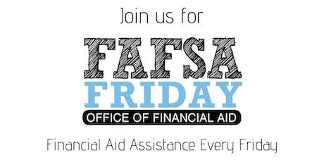 FAFSA Fridays tickets
