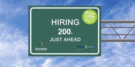 WorkSource Hosts (Aerotek) Warehouse & Logistic Hire Event (Aerotek)