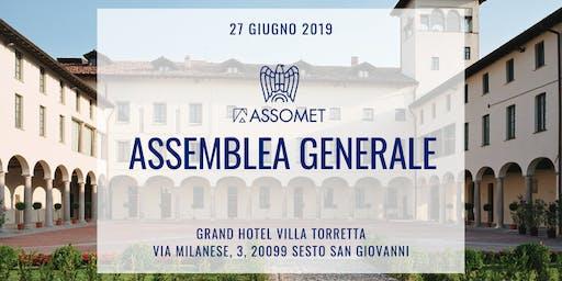 Assemblea Generale 2019 Assomet