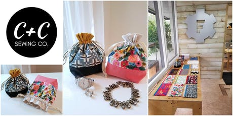 Learn to Sew - Drawstring Pouch Workshop tickets