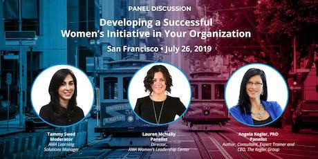 Developing a Successful Women's Initiative in Your Organization tickets
