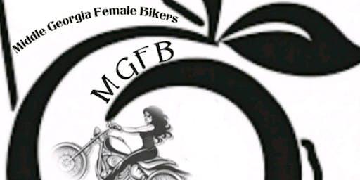 1st Middle Georgia All Female Ride