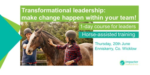 Transformational leadership - Horse-assisted training