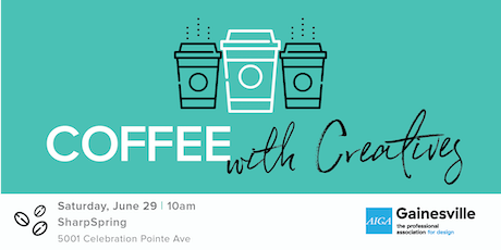 Coffee with Creatives | June tickets