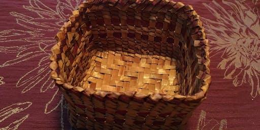 Red Cedar Bark Basket Weaving Workshop