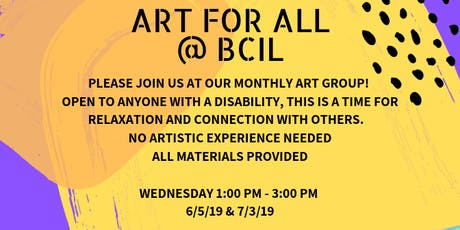 Art for All: Open Art Group for People with Disabilities tickets