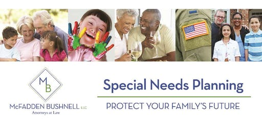 Special Needs Planning Series: The Basics @ 7pm