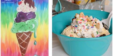 Paint Then Make An Ice Cream Sundae Fall River  tickets