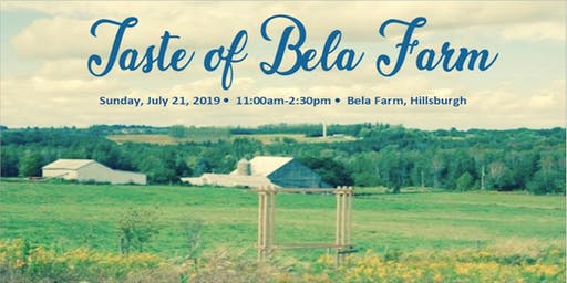 Taste of Bela Farm
