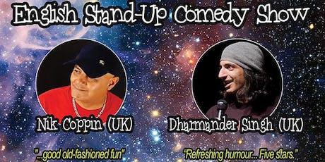 Copenhagen: Cosmic Comedy World Tour - An Edinburgh Fringe Preview tickets
