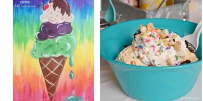Paint Then Make An Ice Cream Sundae Taunton