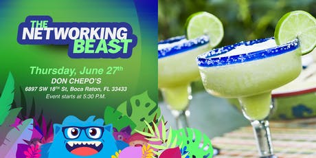 The Networking Beast - Come & Network With Us (DON CHEPO'S) Boca Raton tickets