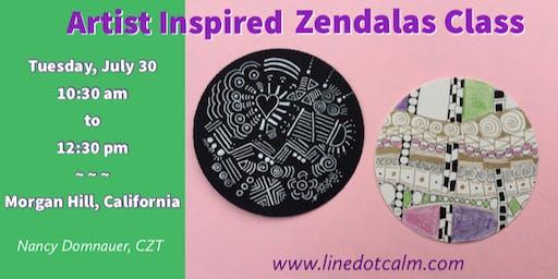 Artist Inspired Zendalas® Class