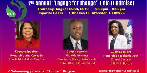"2nd Annual ""Engage for Change"" Gala Fundraiser"