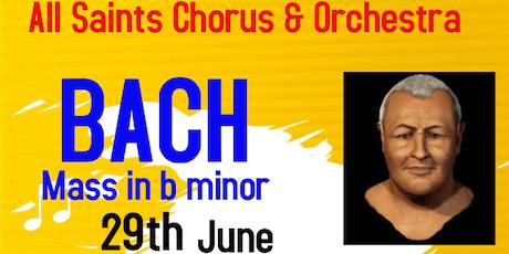 Bach - Mass in b minor tickets