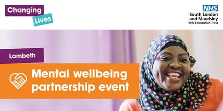 Lambeth - Mental wellbeing partnership event tickets