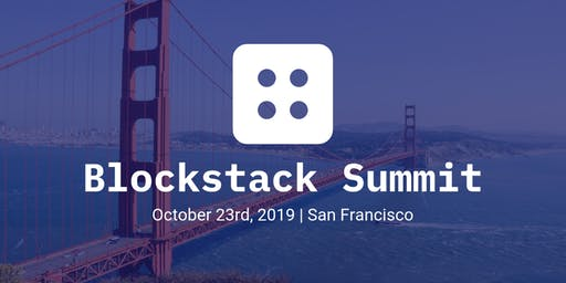 Blockstack 2019 Summit