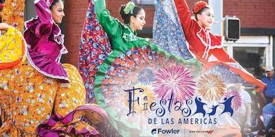Vendor Booths - Fiestas de las Americas 2019