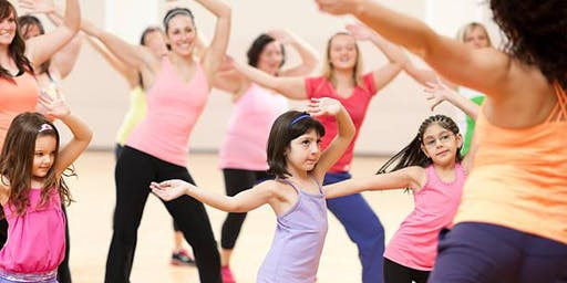 Movin' and Groovin' Family Zumba