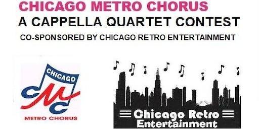 2019 A Cappella Quartet Contest