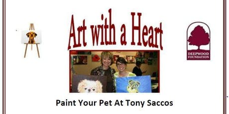 Art With A Heart - Paint Your Pet tickets