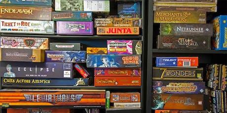 Drop In Teen Board Games @Endicott  tickets