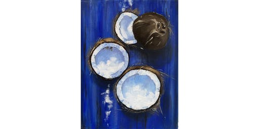 Ally's Art - Coconuts - fun painting class, 4 spots max, Chicago, IL