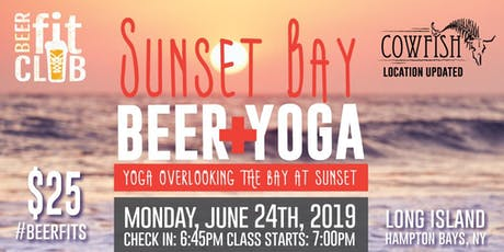 Sunset Bay Beer + Yoga tickets