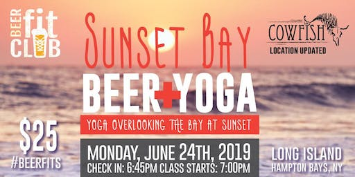 Sunset Bay Beer + Yoga