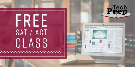 FREE ACT/SAT Prep 2 Day Weekend BootCamp in Downtown Tampa (Materials not included)  tickets
