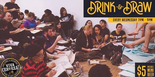 Drink & Draw - Todos los Miércoles en Quito | Ecuador