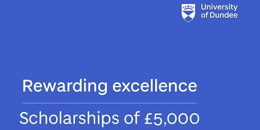 University of Dundee, UK - Global Excellence Scholarships (Postgraduate)