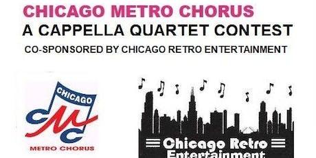 A Cappella Quartet Contest tickets
