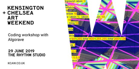 Visuals Coding Workshop with Algorave tickets