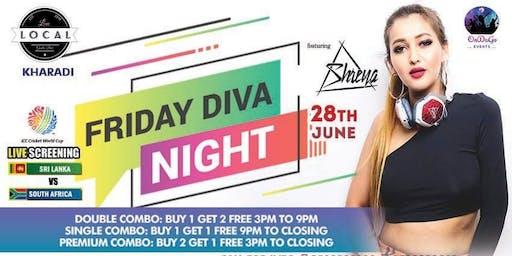Friday Diva Night - Dj Shreya