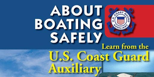 About Boating Safely Class