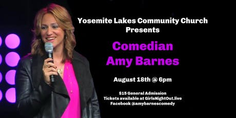 Comedian Amy Barnes Live tickets