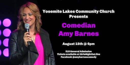 Comedian Amy Barnes Live