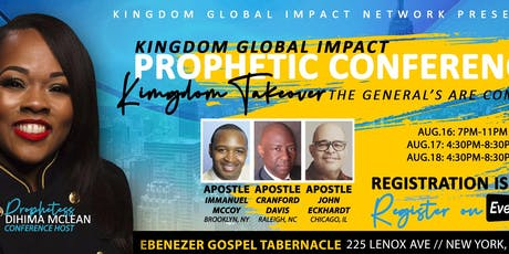 Kingdom Global Impact Prophetic Conference  tickets