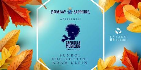 Bombay Sapphire apresenta: Café de La Musique Campos do Jordão ingressos