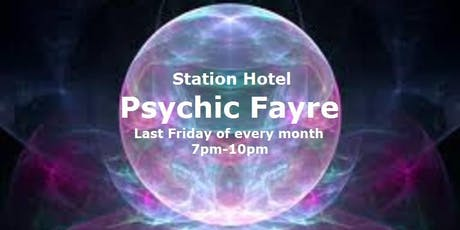 Psychic Fayre at the Station Hotel Dudley on 28 June tickets