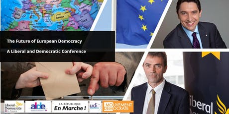 The Future of European Democracy - A Liberal and Democratic Conference billets