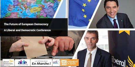 Lunch European Democracy Conference Déjeuner - Conférence européenne sur la déocrat tickets
