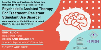 Psychedelic Assisted Therapy For Treatment-Resistant Stimulant Use Disorder