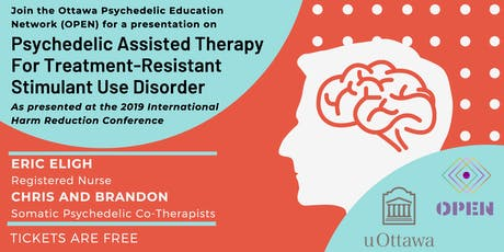 Psychedelic Assisted Therapy For Treatment-Resistant Stimulant Use Disorder tickets