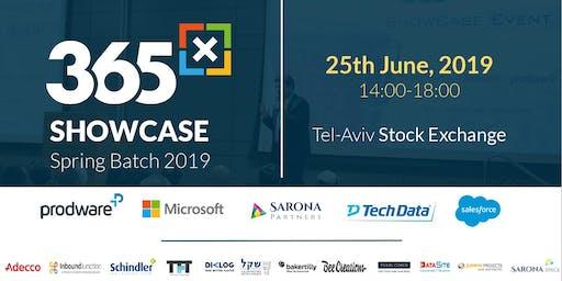 365x Show Case Event - 2019 Spring Batch