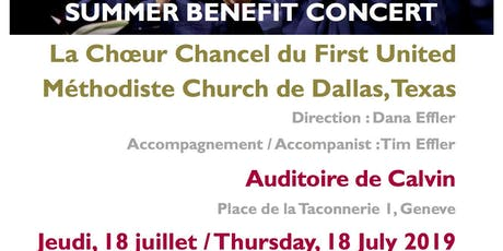 Concert of the Dallas First United Methodist Church Chancel Choir billets