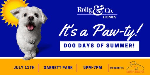 Dog Days of Summer  - Benefit for Great Plains SPCA