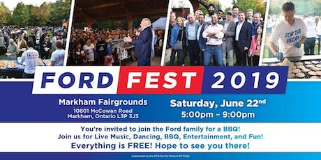 Volunteers for Ford Fest!  tickets